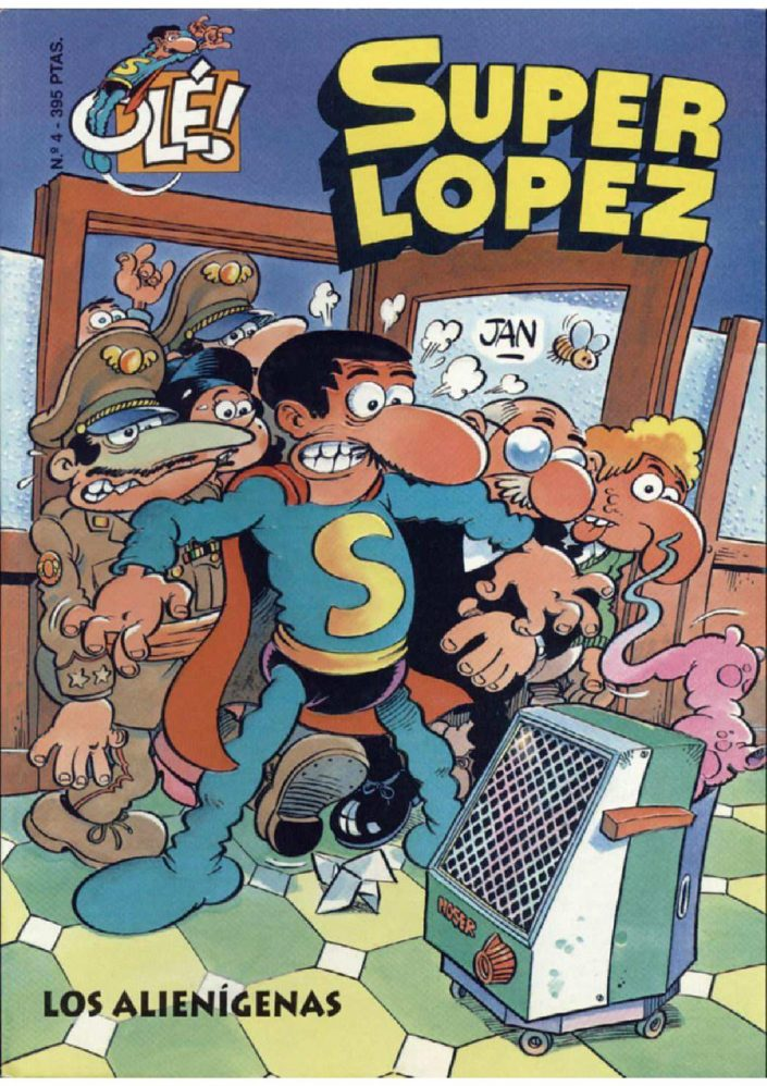 """Adaptación cinematográfica de """"Super Lopez"""""""